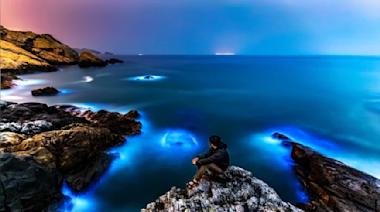 藍眼淚伴星空…馬祖大坵島 拚台灣第2座「暗空公園」