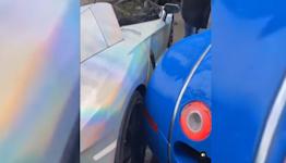 Wheel Murder Committed By Bugatti Veyron