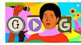 Google Doodle celebrates poet, civil rights activist Audre Lorde's 87th birthday