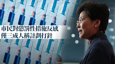 74%人反對懲罰方式逼接種疫苗   蘋果日報