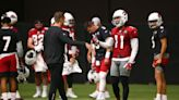 Kliff Kingsbury on Larry Fitzgerald: 'The ball's in his court'