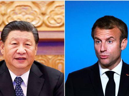 習近平與馬克龍通電 讚揚法國提議「歐盟戰略自主」
