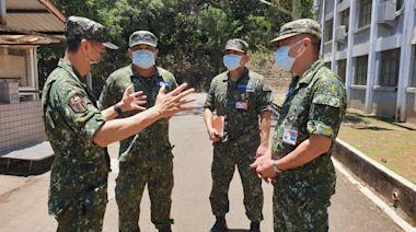 6軍團強化防疫作為 嚴防熱傷害