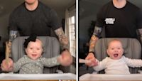 Dad Helps 'Heavy Metal Baby' Go Viral In Hilarious TikTok Series