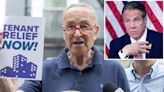 Schumer slams Cuomo administration for delays in federal rent relief