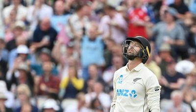 'Such is life', says New Zealand's Conway after missing out on ton