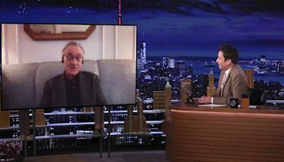Robert De Niro Confirms He Was Once Set To Star In 'Big' On 'The Tonight Show' – Watch