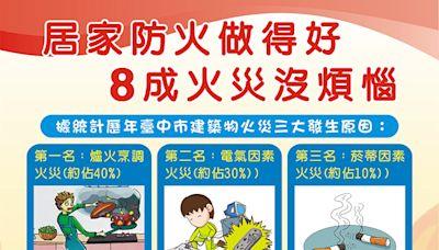 中秋連假 台中市消防局啟動防火宣導