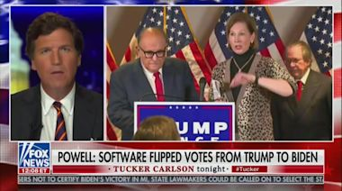 Trump Lawyer Sidney Powell: I Didn't Provide Evidence to Tucker Carlson Because He Was 'Rude'