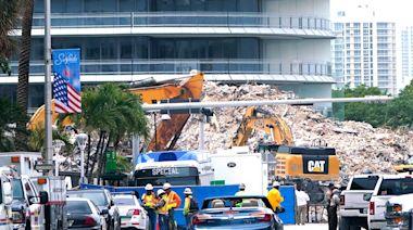美國佛州坍塌大樓停止搜尋罹難者遺體 至少97死1失蹤 | 蘋果新聞網 | 蘋果日報