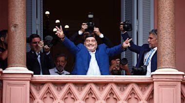 Argentine soccer great Diego Maradona dies at 60
