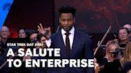 Anthony Montgomery Celebrates 20 Years Of Enterprise | Star Trek Day 2021 | Paramount+