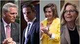 Kevin McCarthy hits out at 'Pelosi Republicans' Liz Cheney and Adam Kinzinger over 6 January committee