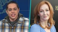 Pete Davidson Calls Out J.K. Rowling's 'Very Disappointing' Transgender Remarks On 'SNL'