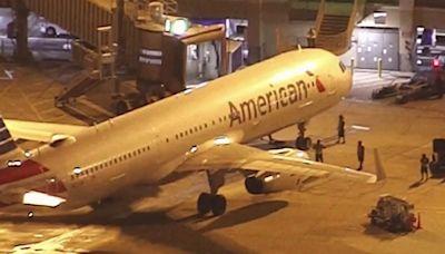 Avión de American Airlines que salió de NY aterriza de emergencia tras sangrienta agresión contra asistente de vuelo