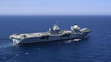 英航母進南海 法日聯合聲明:防務合作應對中共