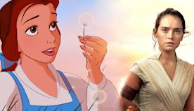 Star Wars: 10 Times Rey's Story Mirrored A Disney Princess