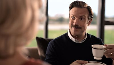 Watch Will Ferrell present fellow SNL alum Jason Sudeikis with a Peabody Award for Ted Lasso