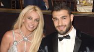 Britney Spears Celebrates With Sam Asghari After Jamie Spears Is Removed As Her Conservator
