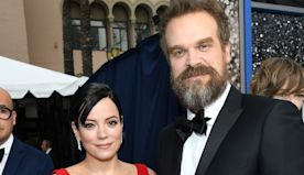 Lily Allen Throws Boyfriend David Harbour The Sweetest 45th Birthday Party At Home