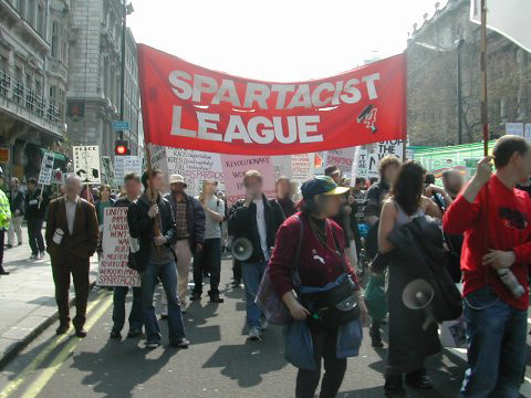 spartacist league trotskyists communists