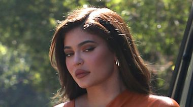 Kylie Jenner Makes a Case for Elevated Brunch Style in a Leather Mini Dress & See-Through Heels