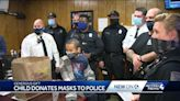 7-year-old surprises McKeesport Police Department with custom masks