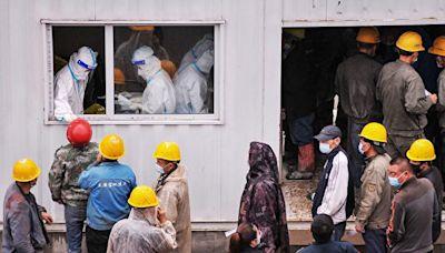 組圖:大陸疫情升溫 福建黑龍江居民受檢