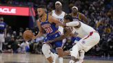 Clippers can't hold back Stephen Curry and Warriors in season-opening loss