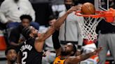Clippers 118, Jazz 104: Kawhi Leonard has memorable dunk and injury scare in Clippers' Game 4 win