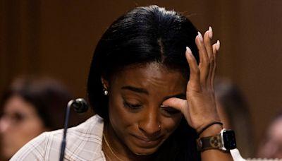 狼醫性侵案 拜爾絲國會作證 淚斥FBI、體操隊漠視惡行