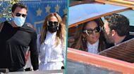 Jennifer Lopez & Ben Affleck Get Cozy In Venice