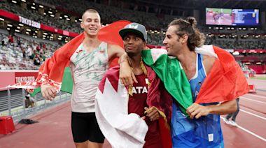 東奧8.1|男子跳高決賽 卡塔爾意大利選手並列冠軍