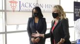 Jill Biden touts vaccine in poorly inoculated Mississippi