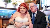 Terminally ill bride gets married to her love after wedding planned in 48 hours