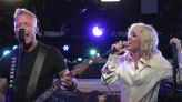 Miley Cyrus and Metallica Perform 'Nothing Else Matters' Together on 'The Howard Stern Show'