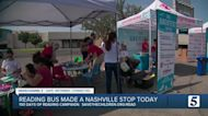 Reading bus makes stop in Nashville before school starts