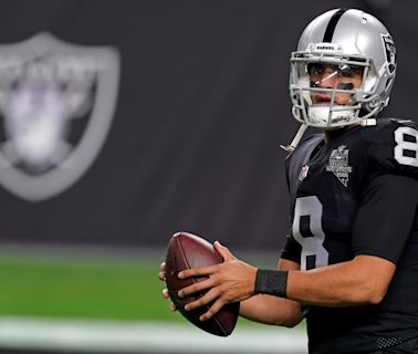 Marcus Mariota understands role as a Raiders backup QB, knows he has more to prove