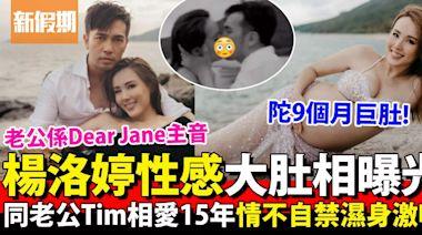 楊洛婷挺9個月巨肚留倩影 與老公Dear Jane主音Tim慶祝相愛15年   影視娛樂   新假期