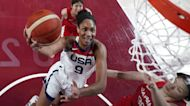 Team USA is victorious during Tokyo Olympics final competitions