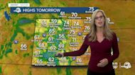 Perfect Bronco forecast- with a cold front next week