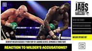 Deontay Wilder accuses Tyson Fury of loading gloves, demands third fight