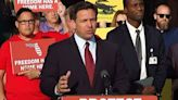 Gov. DeSantis rallies supporters and riles foes with 'Don't Tread on Florida' gator