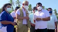 U.N. experts inspect major Sri Lanka chemical spill