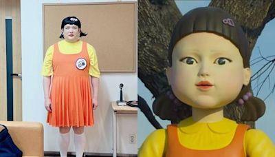 神還原《魷魚遊戲》詭異人偶!SJ神童「重量級」扮相嚇壞希澈