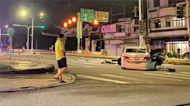 兩車對撞 13歲女童拋飛車外 當場身亡