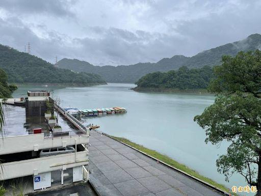 繼續補水!桃園水情轉黃燈 石門水庫午後開始明顯降雨