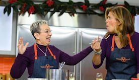 Louisiana chef fulfills dream of cooking for Hoda in the TODAY kitchen