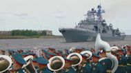 Russia holds annual show of naval prowess