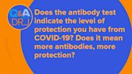 Do more COVID-19 antibodies mean more protection?
